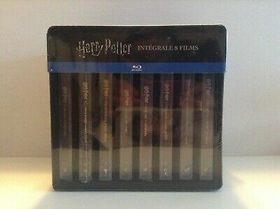 Harry Potter : the complete collection 8 limited edition steelbook (Blu-ray) NEW