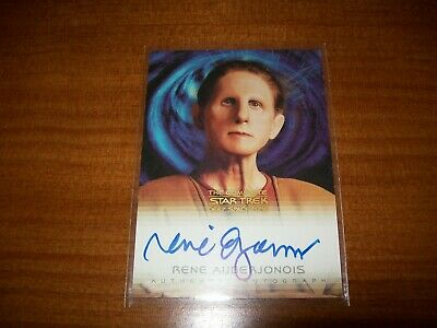 Star Trek Complete Deep Space Nine DS9 Rene Auberjonois Odo A10 Autograph Card