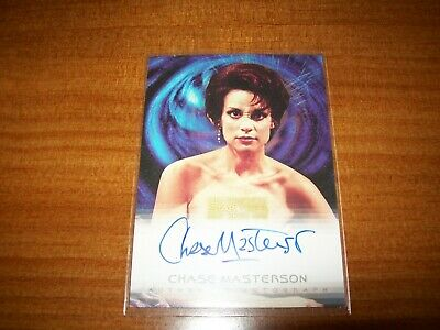 Star Trek Complete Deep Space Nine DS9 Chase Masterson Leeta A12 Autograph Card