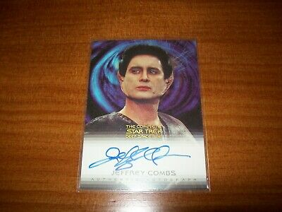 Star Trek Complete Deep Space Nine DS9 Jeffery Combs Weyoun A14 Autograph Card