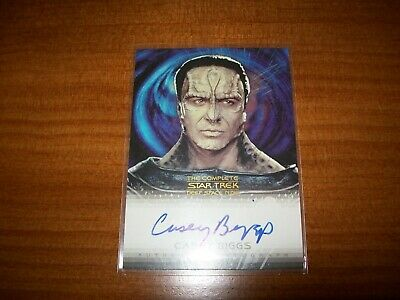 Complete Star Trek Deep Space Nine DS9 Casey Biggs as Damar A16 autograph card