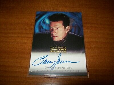 Star Trek Complete Deep Space Nine DS9 Barry Jenner Bill Ross A26 Autograph Card