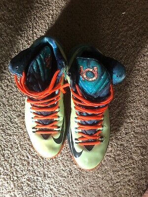 new products b2860 f8530 Nike KD V (5) All Star Area 72 Size 10.5 VNDS Lime Obsidian Total