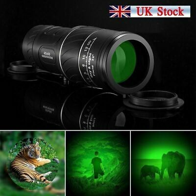 Night Vision Telescope Binocular HD Hunting Monocular Hunt Handheld Scope 40X60