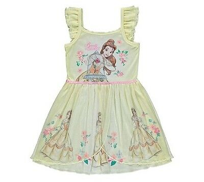 BNWT Girls Disney Beauty & The Beast/Belle Nightdress with Sound 4-5 yrs