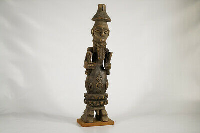 """Unique Bembe Style Statue 26"""" -DRC - African Art"""