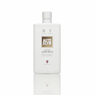 Autoglym Leather Care Balm 500Ml Feeds & Protects Leather Upholstery