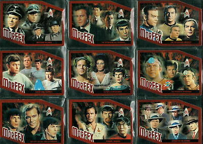 Star Trek 35Th Anniversary Morfex Cards To Choose