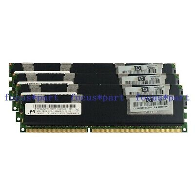 Micron 32GB 8x4GB 2RX4 PC3-10600R DDR3 1333MHz ECC REG Registered Memory 240pin