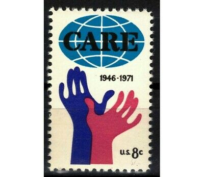 USA 1971 Cooperativa CARE MNH**