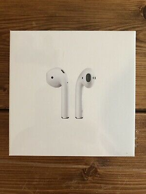 New Apple AirPods 2nd Generation MRXJ2AM/A with Wireless Charging Case White NIB