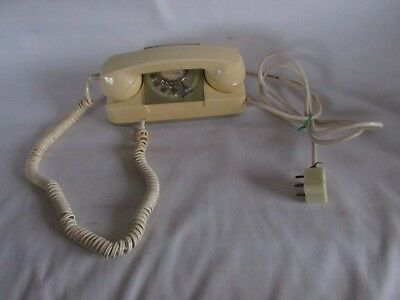 Vintage Starlite Automatic Electric Phone, Cream Color, 1969