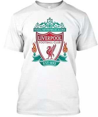 UCL 2019 Soft Liverpool  You'Ll Never Walk Alone Footballer Club T Shirt Tops
