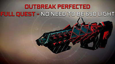Destiny 2 Outbreak Perfected | FULL QUEST - ANY LIGHT - [PC]