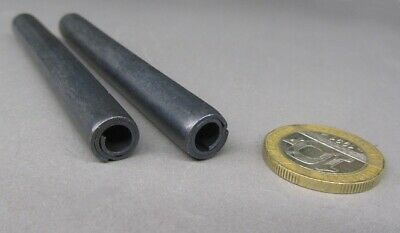 """Steel Coiled Spring Pin, 3/8"""" Dia x 3.50"""" Length, 5 pcs"""