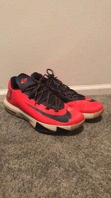 brand new 0b697 70c18 Nike KD VI 6 DC Washington Crimson Red Obsidian Blue Size 12 Shoes 599424-