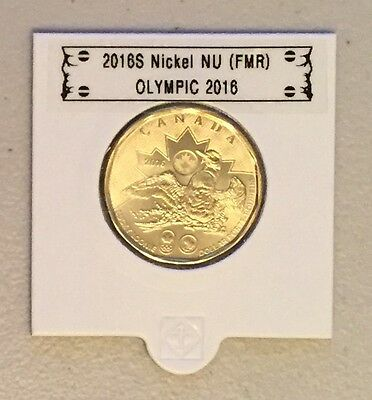 CANADA 2016 New 1$ LUCKY LOONIE Olympic 2016 (BU directly from mint roll)
