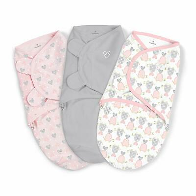 SwaddleMe Original Swaddle, Slow & Steady Sm/Med 7-14lbs - 3pk