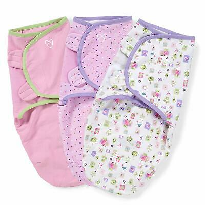 SwaddleMe Original Swaddle, Who Loves You, Sm/Med 7-14lbs - 3pk