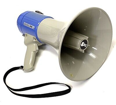 Sky USA ER-55S 25W MEGAPHONE With SIREN 2018 Blue / Tan - Clean Lightly Used