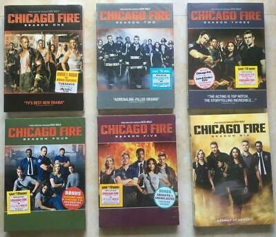 Chicago Fire: The Complete Season 1 2 3 4 5 6 (DVD, 2018, 34-Disc box Set) NEW