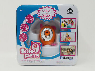 Snap Pets Portable Bluetooth Camera by WowWee - Selfies in a Snap NEW SEALED