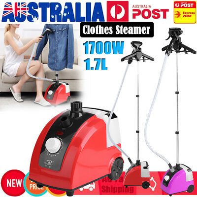 2018 Professional Commercial Garment Steamer Clothes Cleaner Steam Iron 1700W AU