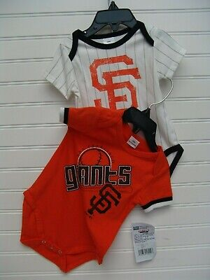 d9b15c58 SAN FRANCISCO GIANTS Baseball Team Infant Baby Newborn Bodysuit New ...