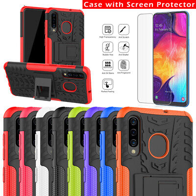 For Samsung Galaxy A10 A20 A30 A50 A70 Case Rugged Armor Hybrid Protective Cover