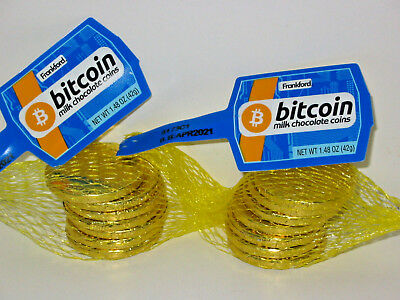 14 Candy Bitcoin Chocolate Coins Bitcoins Cryptocurrency BTC Crypto Miner Gift