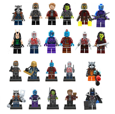 Avengers Endgame 4 Marvel's Super Heros Guardians of the Galaxy Minifigures Bloc