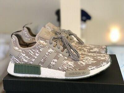 d9f2384d966bc 2017 Adidas NMD R1 CQ0860 Grey Camo Sesame Trace Green White Ultraboost  Size 11