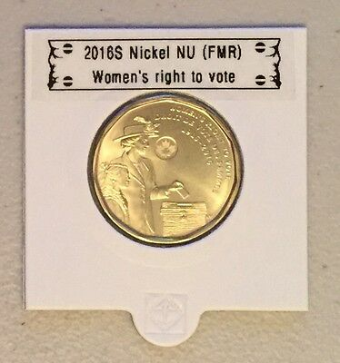 CANADA 2016 New 1$ LOONIE Women's right to vote (BU directly from mint roll)