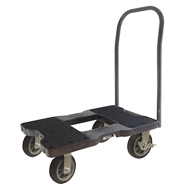 SNAP-LOC ALL-TERRAIN PUSH CART DOLLY BLACK with 1500 pounds Capacity, Steel 6