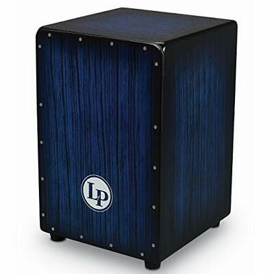 LP Aspire Accents Wire Cajon Blue Burst Streak LPA1332-BBS