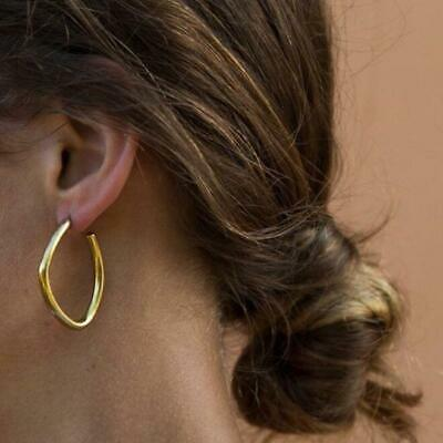 2019 Statement Geometric Circle Metal Earrings Women Fashion Dangle Earring
