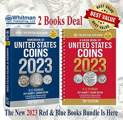2020 New Official Red Book Price Guide United States US Coins + Blue Book Lot