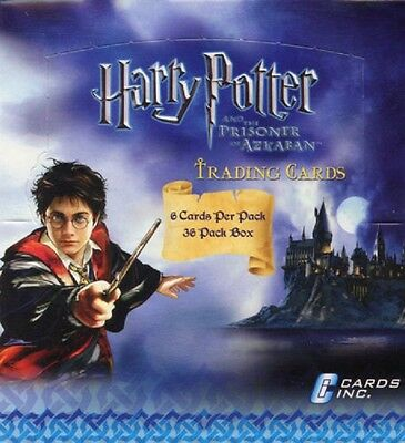 Harry Potter And The Prisoner Of Azkaban Cards Inc Wax Box Cards Card 36 Ct