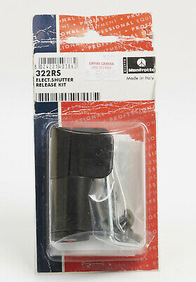 Manfrotto 322RS Electronic Shutter Release Kit for 322RC2 Ball Head NEW NOS
