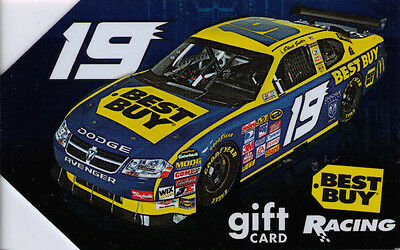 Best Buy Gift Card  Racing 19  Used Card No Value