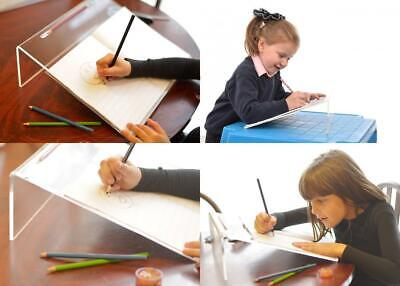 Clear Acrylic Ergonomic Writing Slope, Extra Wide for Better Posture, 20...