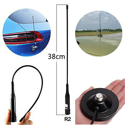 3pcs Silver SDN1 NMO Dual Band 144//430MHz 100W Mobile Ham Car Radio Antennas