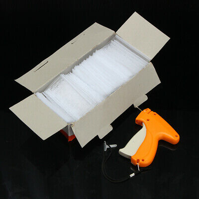 Regular Clothes Garment Sock Price Tag Label Tagging Gun kit +5000 Barbs+Neddle