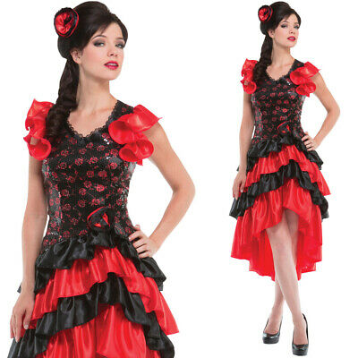 Flamenco Spanish Lady Costume