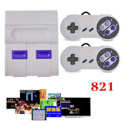 HDMI SUPER NES Classic Edition Console SNES Mini SFC Retro Built-in 821 Games