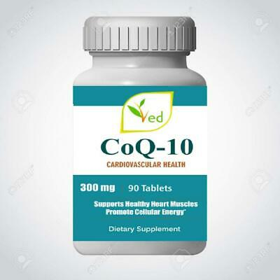 Co Enzyme Q10 300 mg 90 Tablets GMP Guaranteed Quality