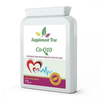Co Enzyme Q10 CoQ10 300mg 60 Vegetarian Capsules   Trans from Naturally...