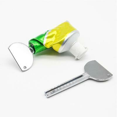 Stainless Steel Tube Toothpaste Squeezer Key Dispenser Wringer Easy-Squeeze Tool