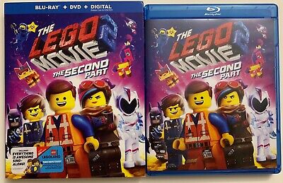 The Lego Movie 2 The Second Part Blu Ray Dvd 2 Disc Set + Slipcover Sleeve Buyit