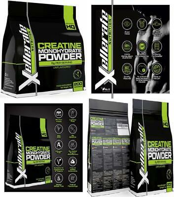 Creatine Monohydrate Powder Micronised | 1kg Equivalent to 200 Servings or 7...